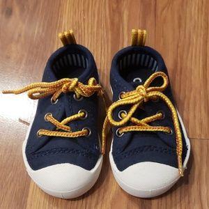 Oshkosh by Gosh Navy Size Baby Sneakers